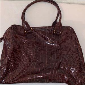 Jessica Simpson Maroon Tote Bag